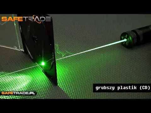 300mW 532nm Green Laser Pointer Review & That Burns