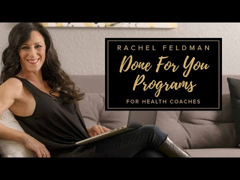 Sneak Peek: Reset your life in 21 days done for you program for Health Coaches by Rachel Feldman