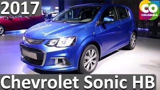Nuevo Chevrolet Sonic Hatchback 2017 Ficha Tecnica y Caracteristicas Colombia