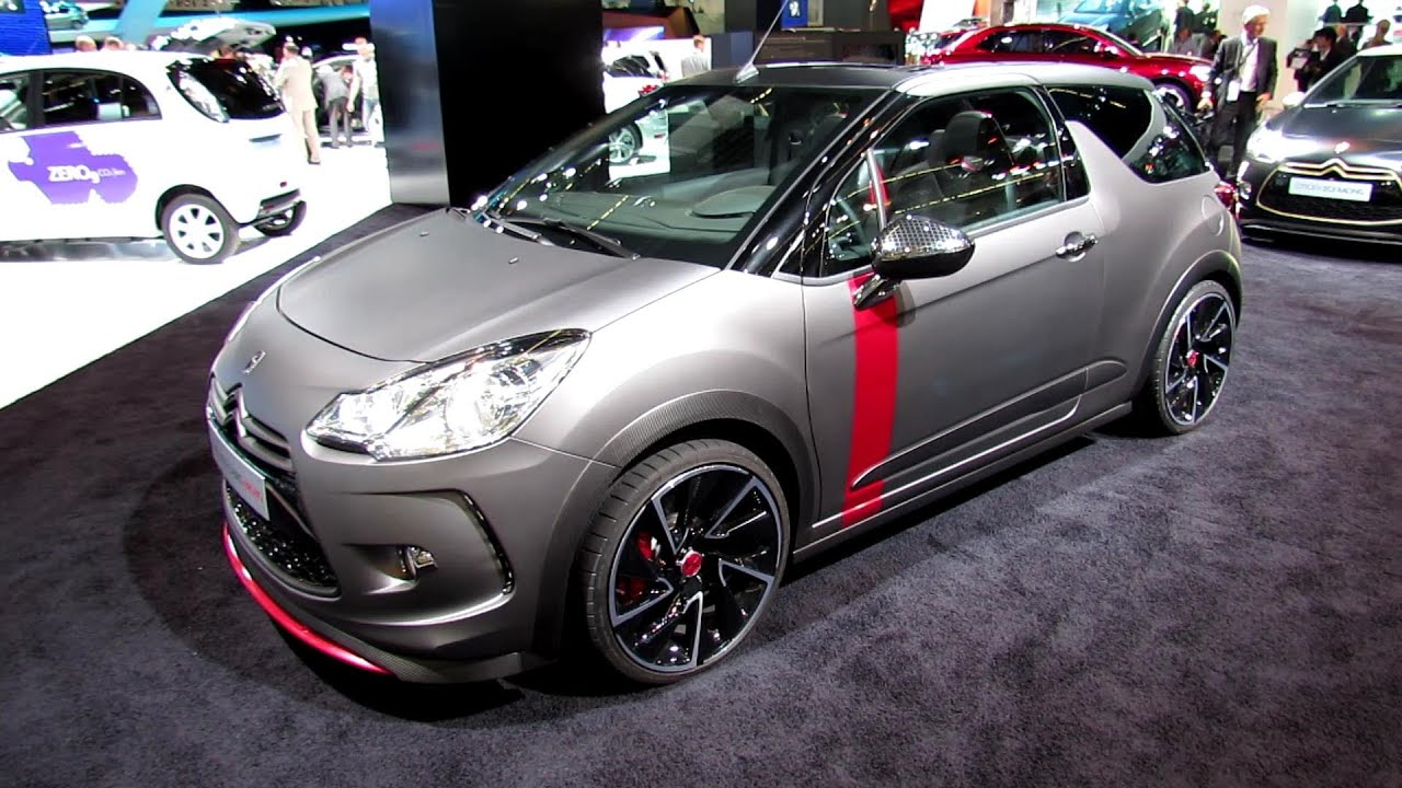 2014 citroen ds3 cabrio racing exterior and interior walkaround 2013 frankfurt motor show. Black Bedroom Furniture Sets. Home Design Ideas