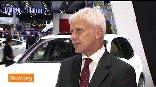 Porsche CEO Matthias Mueller: Europe Growth `Very Slow'