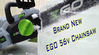 EGO 56v Chainsaw - Ice Sculpture