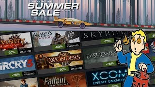 MY HOT TAKE On The Steam Summer Sale 2019!