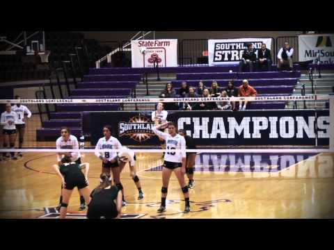Volleyball: Southland Conference Tournament First Round Highlights