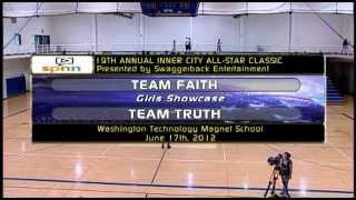 Inner City All-Star Classic Basketball 2012- Girls game