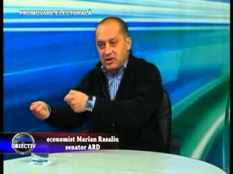 Emisiune Media Obiectiv, invitat economist Marian Rasaliu - senator ARD, 14 noiembrie 2012