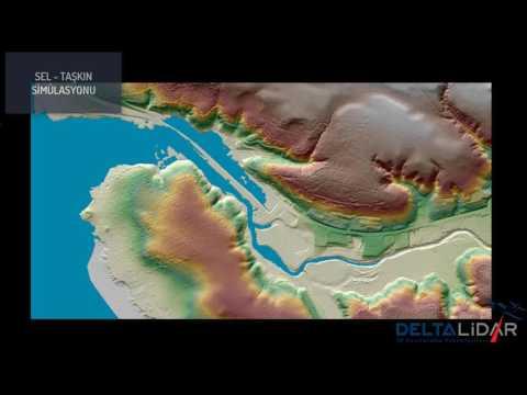 Sel - Taşkın Simülasyonu / Hava Lidar / Airborne Lidar