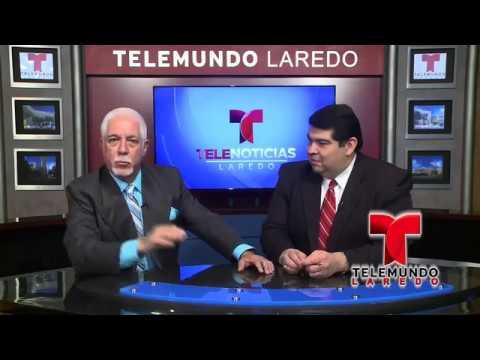 Miguel Amante - Presentador de los Noticieros de Telemundo Laredo a las 5:00 y a las 10:00