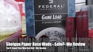 Download lagu You'll Shoot Your Wad Out Kid - Or - How Dangerous Are Paper Base Wads??