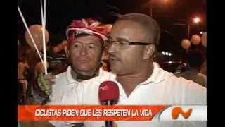 VIOLENCIA AFECTA A LOS CICLISTAS...!!!
