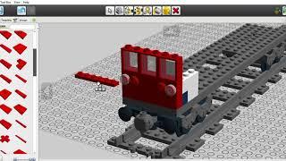 lego london underground train part 1