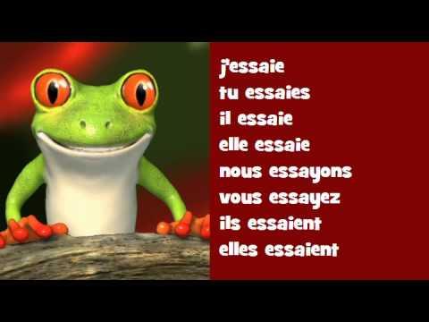 French singing conjugation hip hop essayer youtube