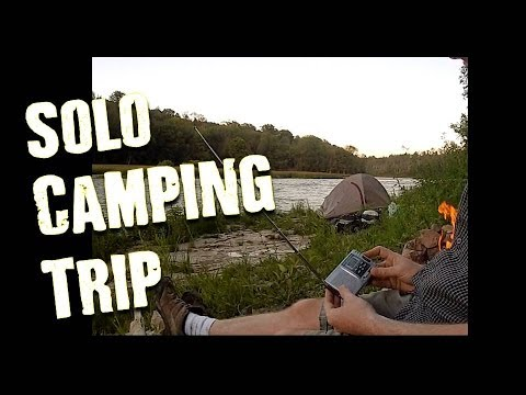 Solo Overnight Camp- MRE's, Water Filter, Alcohol Stoves & Shortwave Radio