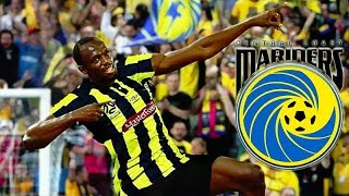 USAIN BOLT SIGNS FOR CENTRAL COAST MARINERS!