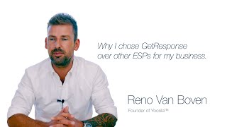 Reno Van Boven on choosing GetResponse for his business [Testimonial]