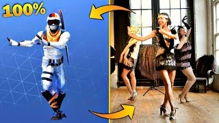 FORTNITE New FLAPPER BALL in REAL LIFE and THE BEST FUNENT MOMENTS and Fails