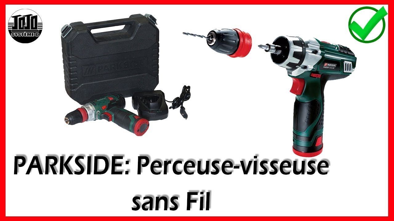 Perceuse 4 en 1 lidl