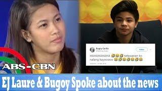 EJ Laure, Nagsalita Tungkol sa Balitang ipinagbubuntis niya ang Anak ni Bugoy Carino!
