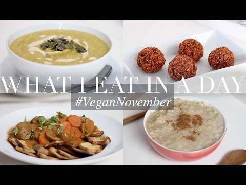 What I Eat in a Day #VeganNovember 3 (Vegan/Plant-based) | J