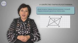 Геометрия 8 класс. Параллелограмм, свойства параллелограмма
