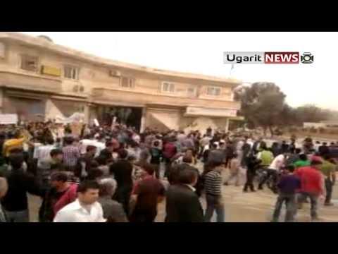 18-4 Ayn Al Arab Aleppo أوغاريت || مظاهرات عين العرب الكوباني ج2