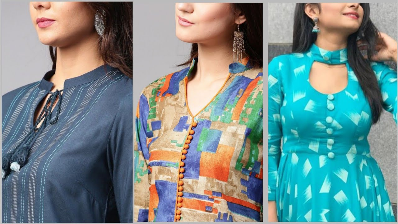 Collar Neck Design For Kurti And Dresses Latest Collar Neck Designs 2020 Youtube