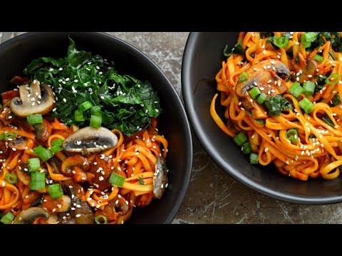 3 Veggie Pasta Dishes (Vegan)