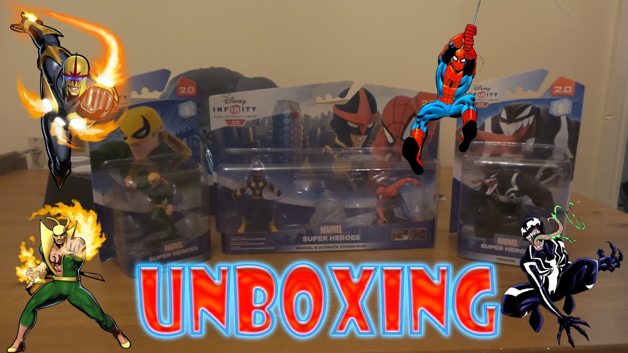 disney infinity 20 marvel super heroes unboxing