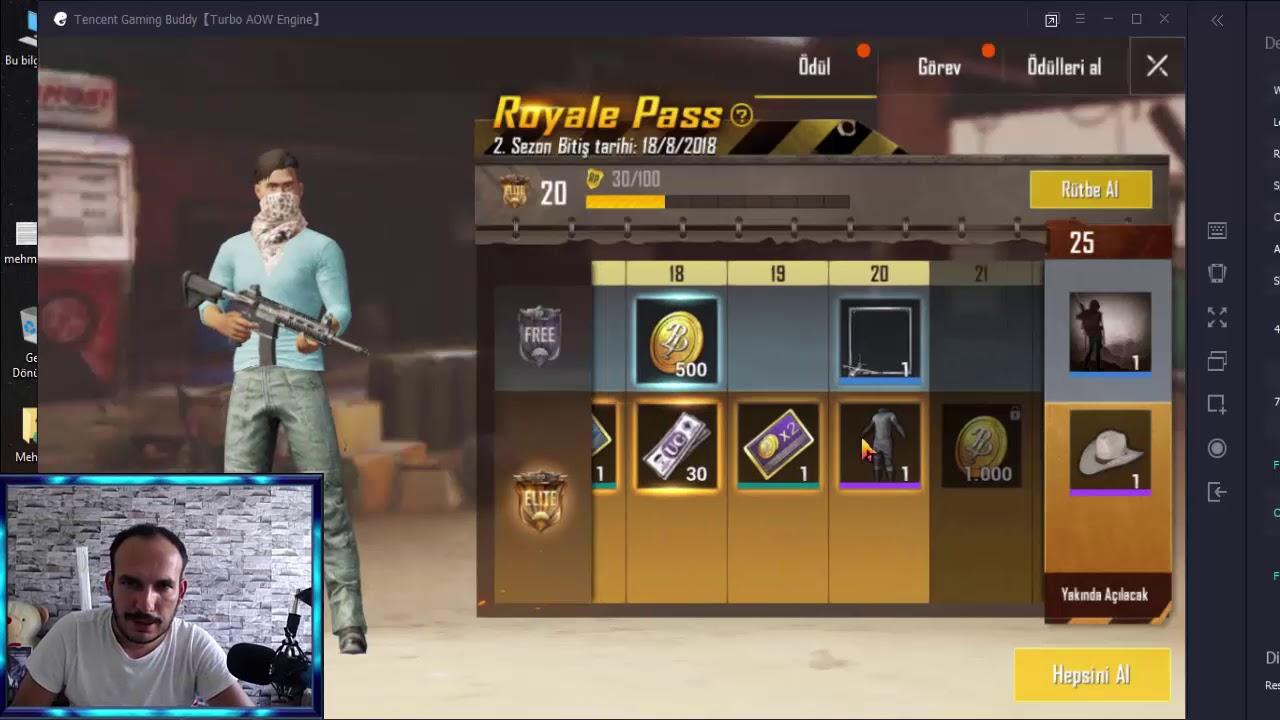 Royale Pass Paketi Görevler Pubg Mobile