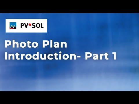 Photo Plan Introduction Video Part 1 Youtube