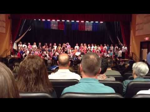 Burr Intermediate School 4th Grade Chorus Concert