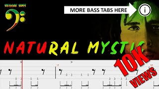 Bob Marley - Natural Mystic ( Official Bass Tabs )