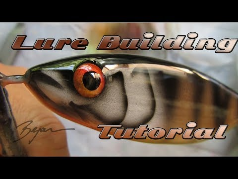 Lure Building Tutorial-Pike Jerkbait From A To Z