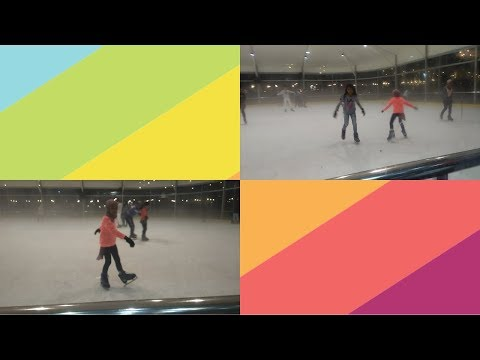 PERTAMA KALI MAIN ICE SKATING! ~ BISA GA YA??