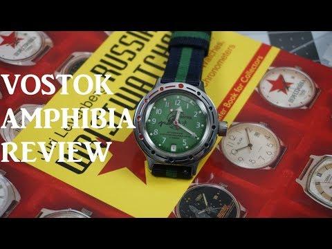 Vostok Amphibia, Russian Watches by Juri Levenberg and PolyWatch!