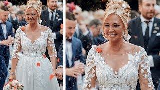 Así es el vestido de novia de Belén Esteban en la boda con Miguel Marcos en su portada de Hola