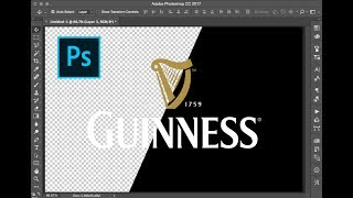 Quickly Remove the backġround from a logo in Photoshop (in under 30 seconds)