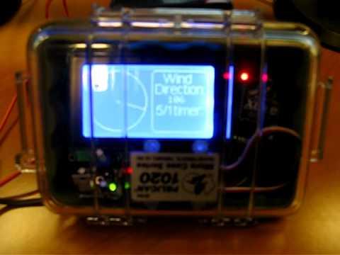 Arduino Wireless Small Boat Wind Indicator