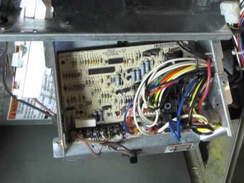 diy  how to change the control board on a bryant 350aav furnace