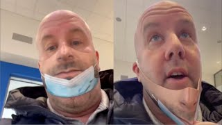 Download Man Pranks People With Realistic Face Mask