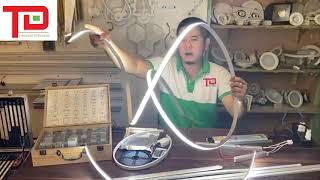 Đèn led thanh nhôm dẻo uốn cong - led dây silicon dẻo định hình uốn cong - Ánh Sáng Thiên Đăng
