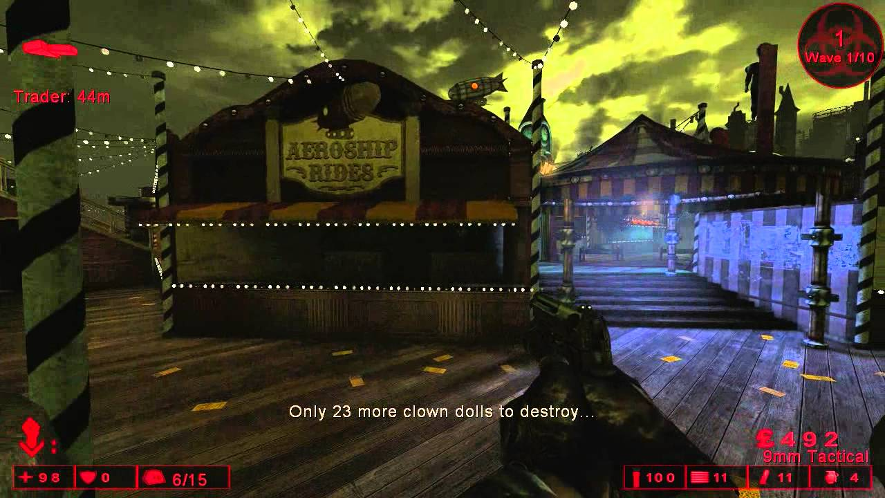 Killing Floor Achievement Hide And Go Puke All Pukey The Clown Locations Youtube