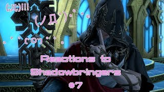 FFXIV Shadowbringers Reactions Part 7: Seven Minutes of GROSS SOBBING