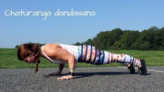 Chaturanga. Let's decipher common cues, introduce the anatomy and mechanics