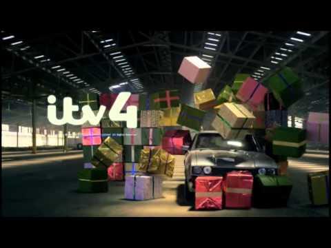 ITV4 Christmas - Christmas Presents ident: 2013