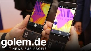 Flir One und One Pro - Hands on (MWC 2017)