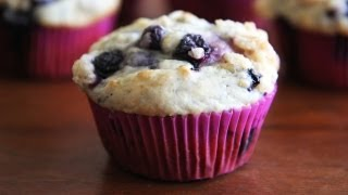 Blueberry Muffins - Homemade Blueberry Muffin Recipe