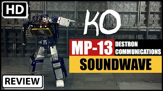 Video Transformers KO Takara Tomy MP13 Masterpiece Soundwave download MP3, 3GP, MP4, WEBM, AVI, FLV Agustus 2018