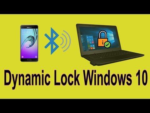 How to set auto lock screen on windows 10