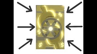 [Roblox] Cash Grab Sim. I got Gold BACKPACK! [Gold items and REBIRTHS]